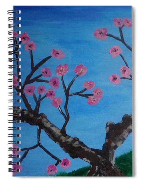 Cherry Blossoms II Spiral Notebook