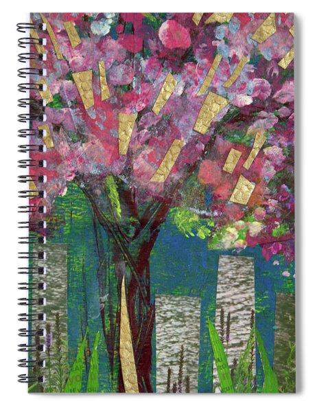 Cherry Blossom Too Spiral Notebook