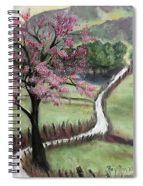 Cherry Blossom Tree Spiral Notebook