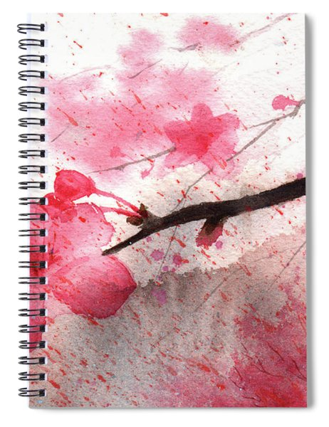 Cherry Blossoms 1 Spiral Notebook