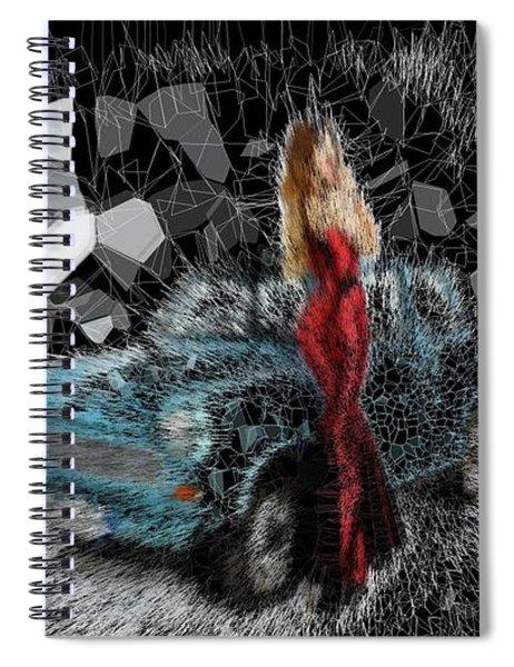 Cherry Blue Sky Spiral Notebook