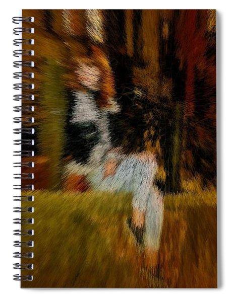 Cherry Kiwi Camel Moment Spiral Notebook