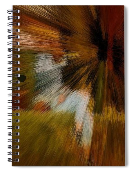 Cherry Kiwi Camel Spirit Spiral Notebook