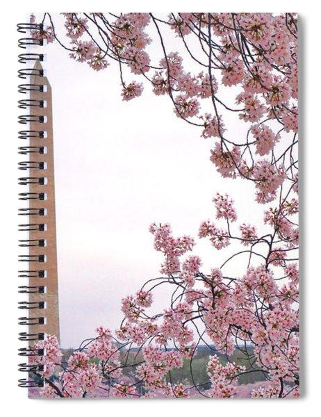 Cherry Washington Spiral Notebook