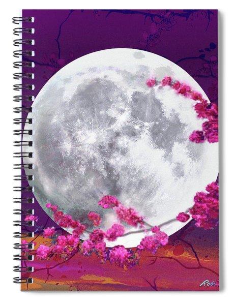 Cherry Moon  Spiral Notebook