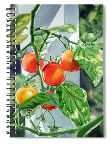 Cherry Tomatoes Spiral Notebook