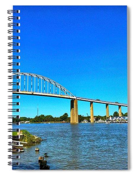 Chesapeake City Bridge  Spiral Notebook
