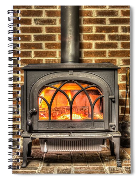 Chestnuts Roasting Spiral Notebook