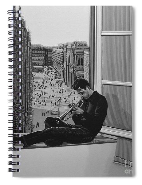 Chet Baker Spiral Notebook