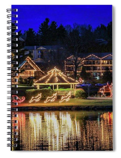 Chetola Lights Spiral Notebook