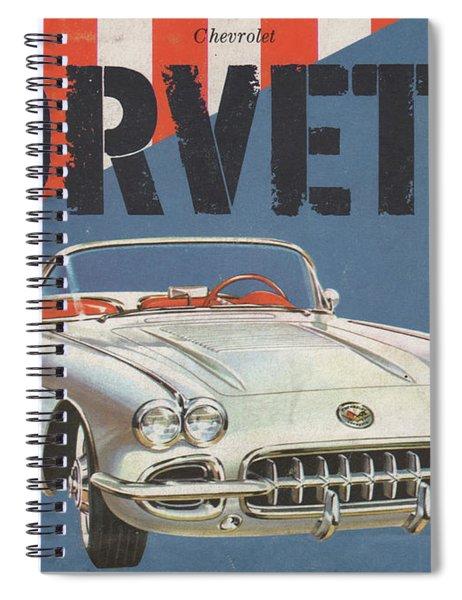 Chevrolet Corvette 1958 Spiral Notebook