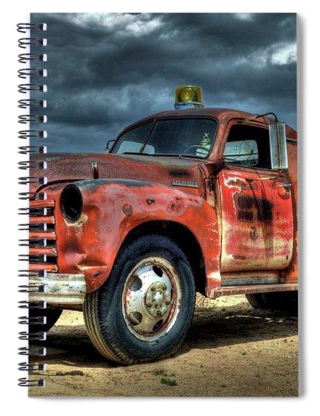 1948 Chevrolet Fire Truck Spiral Notebook