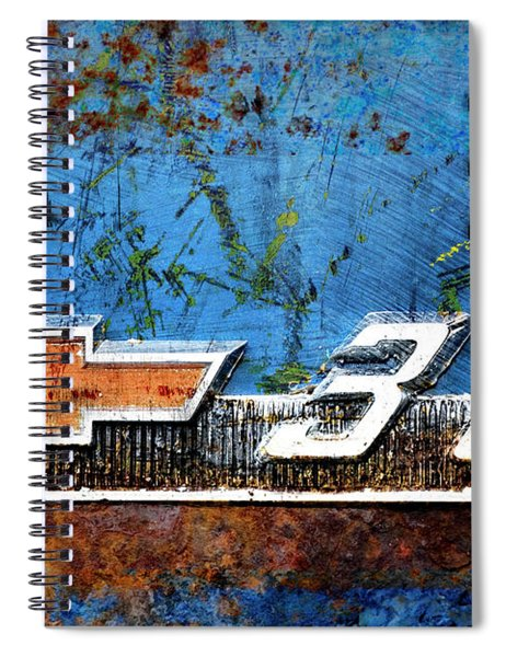 Chevy 3.0 Photomontage Spiral Notebook