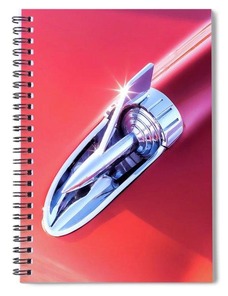 Chevy Bel Air Hood Rocket Spiral Notebook