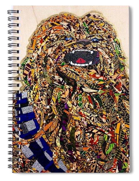 Chewbacca Star Wars Awakens Afrofuturist Collection Spiral Notebook