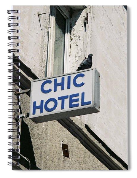 Chic Hotel Spiral Notebook