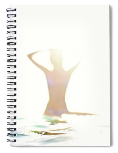 Chica Agua Spiral Notebook