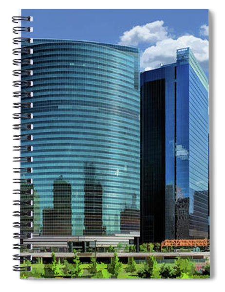 Chicago 333 Wacker River Bend Spiral Notebook