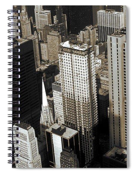 Chicago Architecture - Downtown Skyline 1981 Spiral Notebook