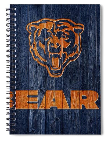 Chicago Bears Barn Door Spiral Notebook
