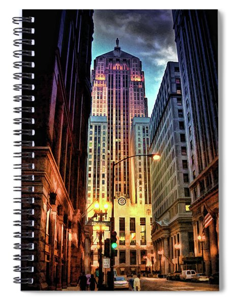 Chicago Board Of Trade Spiral Notebook