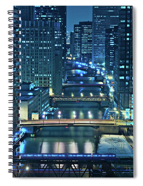 Chicago Bridges Spiral Notebook