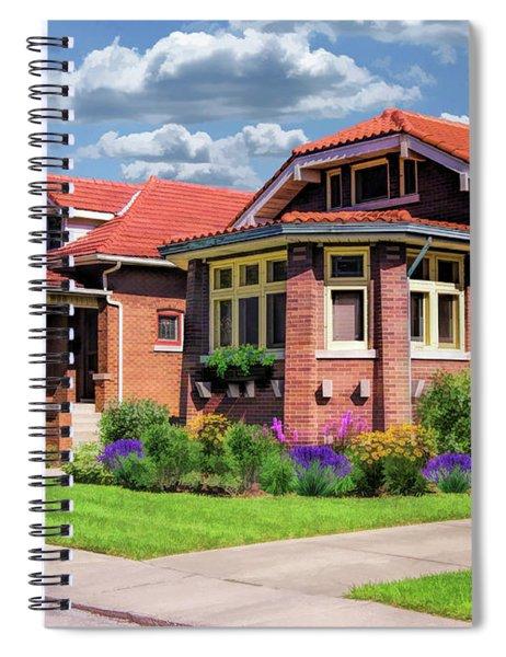 Chicago Bungalows Spiral Notebook