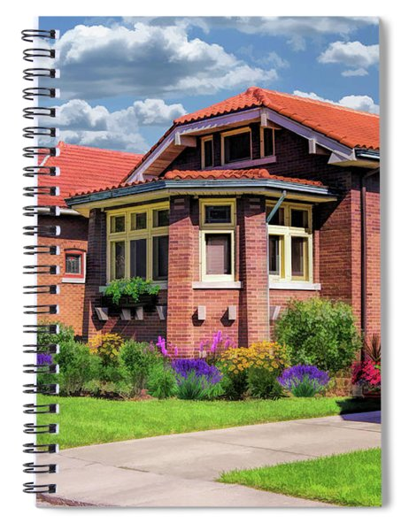 Chicago Bungalows Spiral Notebook