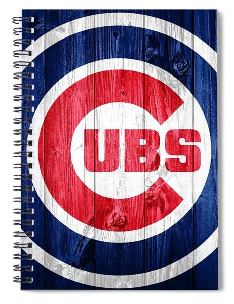 Chicago Cubs Barn Door Spiral Notebook