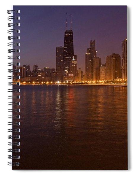 Chicago Dawn Spiral Notebook