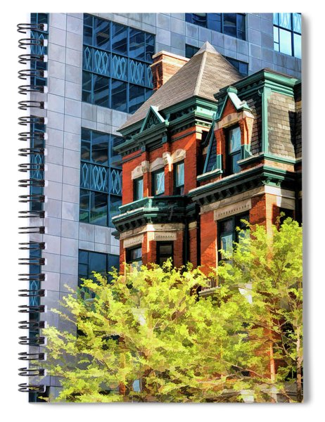 Chicago Gold Coast Architecture Spiral Notebook
