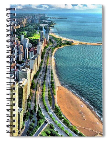 Chicago Gold Coast Spiral Notebook