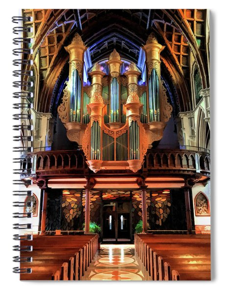 Chicago Holy Name Cathedral Organ Spiral Notebook
