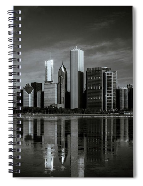 Chicago Lake Front Spiral Notebook