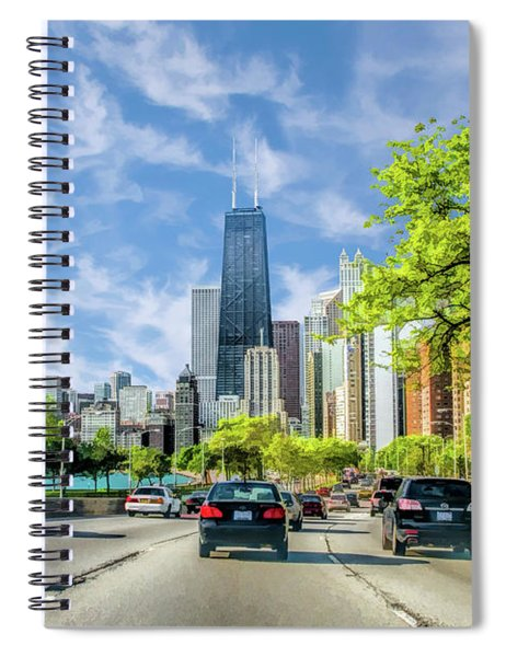 Chicago Lake Shore Drive Spiral Notebook