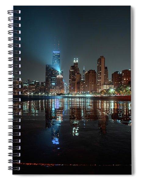 Chicago Night Spiral Notebook
