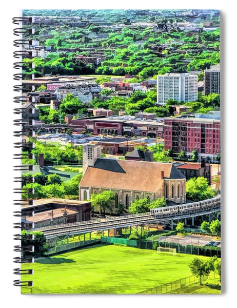 Chicago Old Town Spiral Notebook
