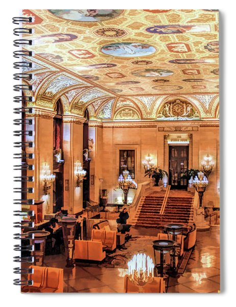 Chicago Palmer House Spiral Notebook