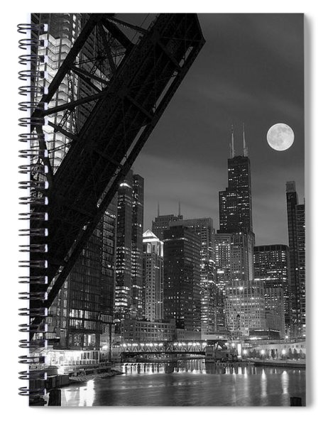 Chicago Pride Of Illinois Spiral Notebook