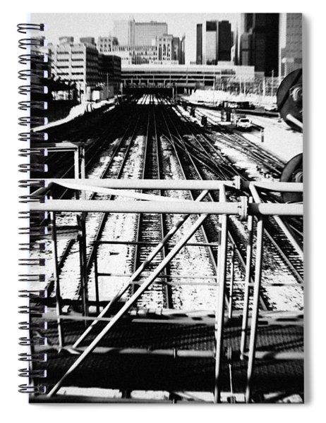 Chicago Railroad Yard Spiral Notebook