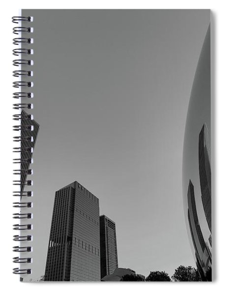 Chicago Reflections Spiral Notebook