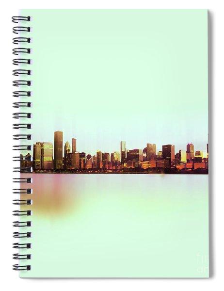 Chicago Skyline 01 Spiral Notebook