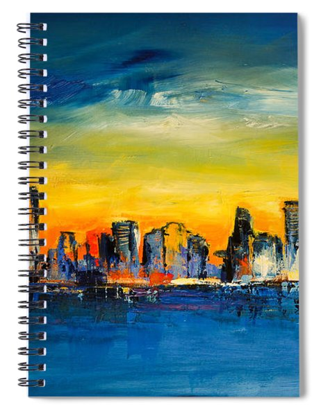Chicago Skyline Spiral Notebook