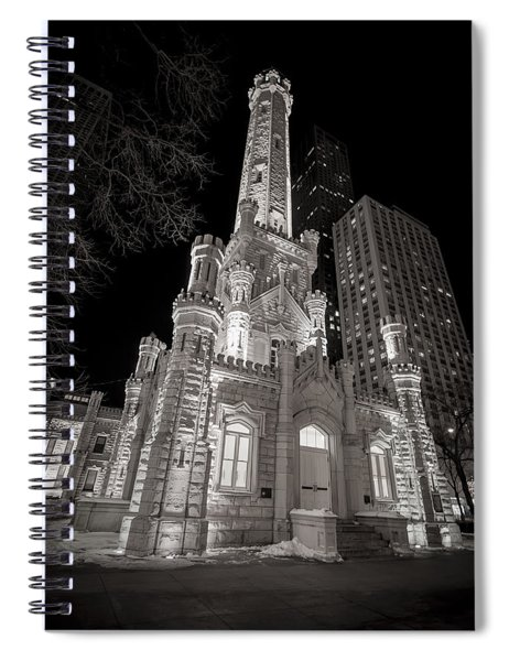 Chicago Water Tower Spiral Notebook