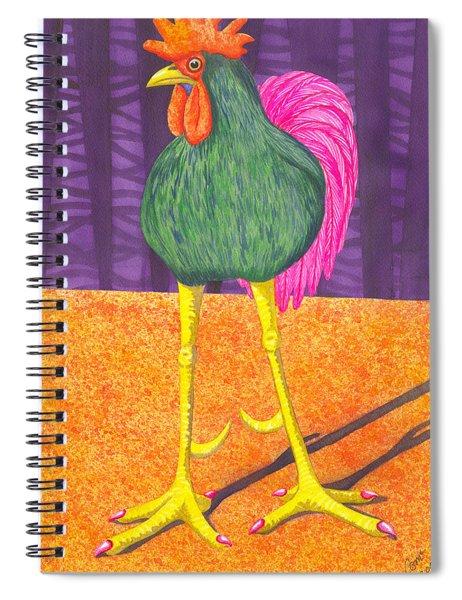 Chicken Legs Spiral Notebook