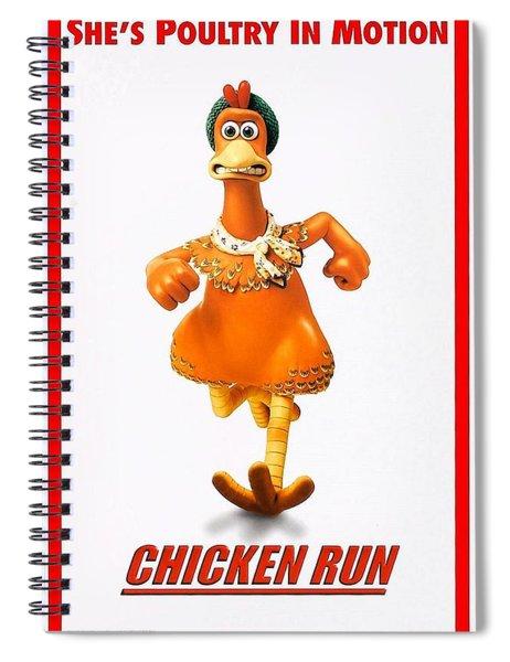 Chicken Run B Spiral Notebook