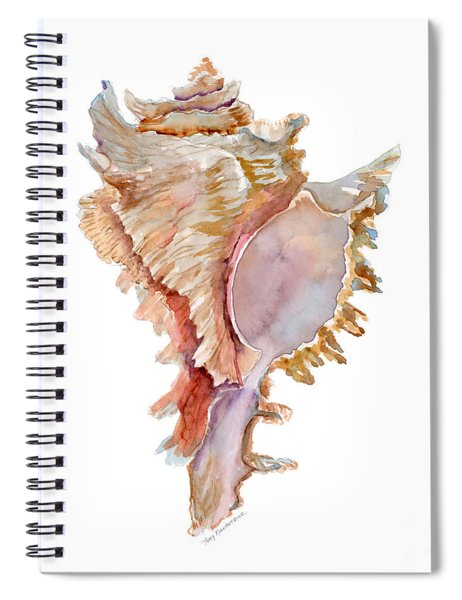 Chicoreus Ramosus Shell Spiral Notebook
