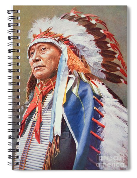 Chief Hollow Horn Bear Spiral Notebook