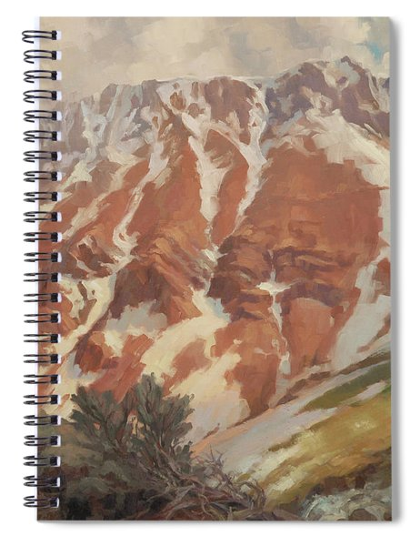 Chief Joseph Mountain Spiral Notebook