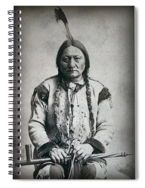 Chief Sitting Bull 1884 Spiral Notebook